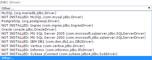 The jConnect Driver Files
